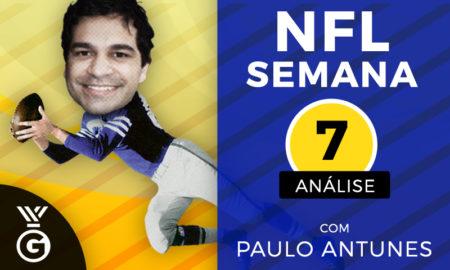 NFL Semana 7: Análise com Paulo Antunes