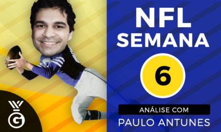 Paulo Antunes analisa a Semana 6 da NFL