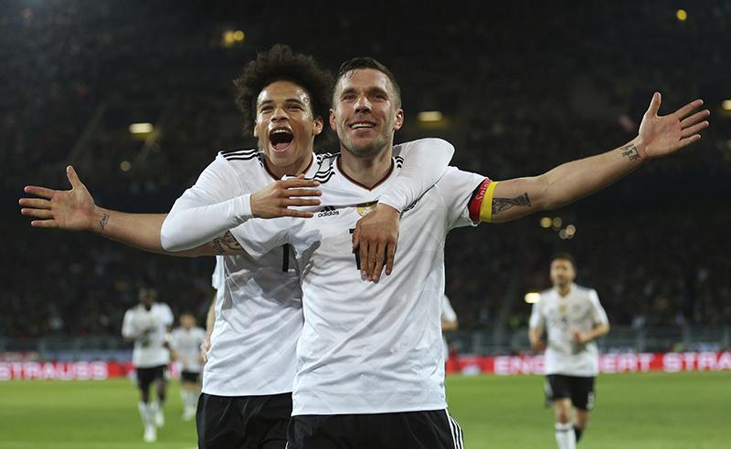 Germany Soccer England