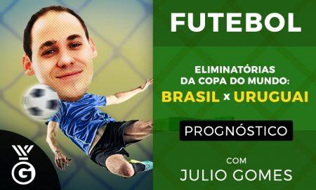 Brasil x Uruguai Eliminatórias da Copa da Rússia