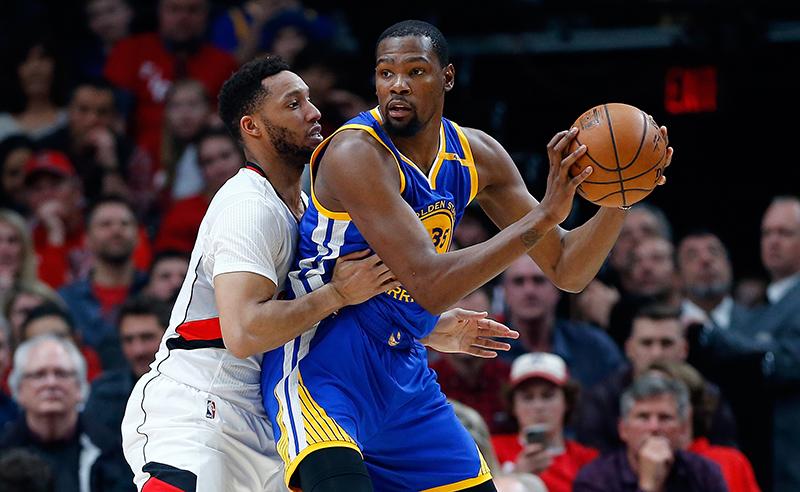 Golden State Warriors v Portland Trail Blazers – Game Four