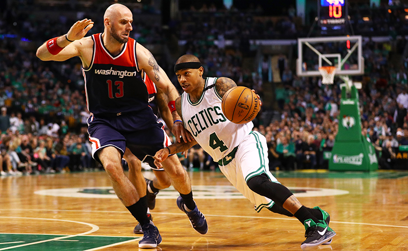Washington Wizards v Boston Celtics – Game One