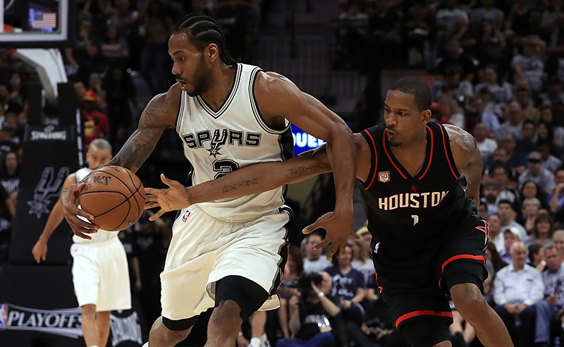Houston Rockets v San Antonio Spurs – Game One