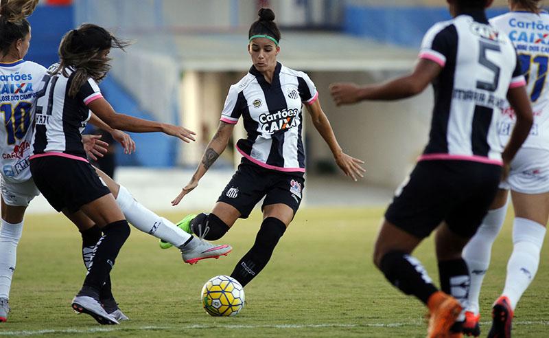 Campeonato Brasileiro de Futebol Feminino CAIXA 2017 – São José E.C. x Santos F.C