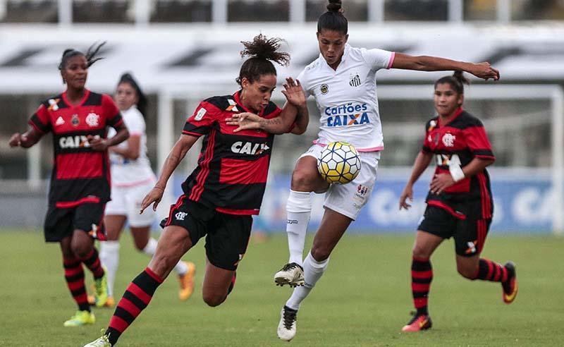 """Campeonato Brasileiro de Futebol Feminino """"Brasileirão Caixa 2017"""" – Santos F.C. x C.R. Flamengo/Marinha"""