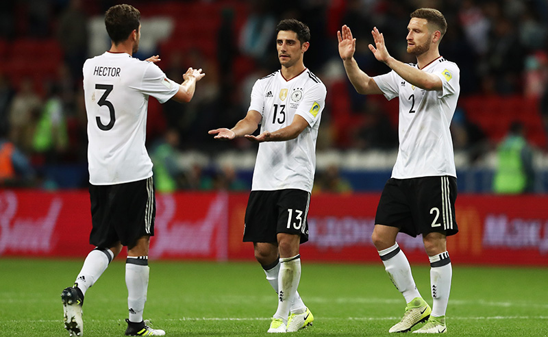 Germany v Chile: Group B – FIFA Confederations Cup Russia 2017