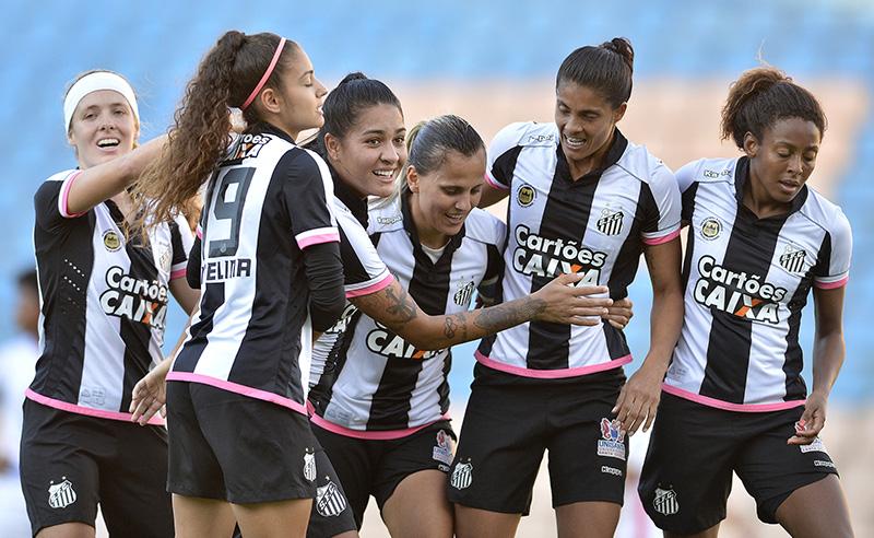 """Campeonato Brasileiro de Futebol Feminino """"Brasileirão Caixa 2017"""", Grêmio Osasco Audax X Santos F.C."""