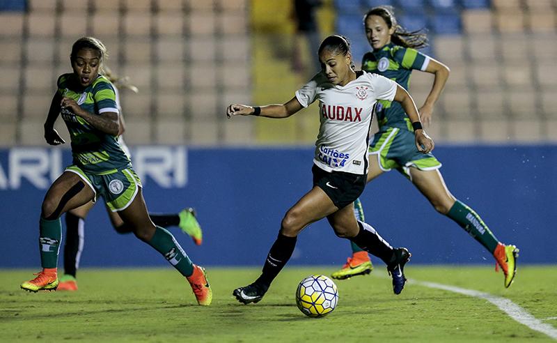 """Campeonato Brasileiro de Futebol Feminino """"Brasileirão Caixa 2017"""" – S.C. Corinthians Paulista/Audax X Iranduba da Amazônia"""