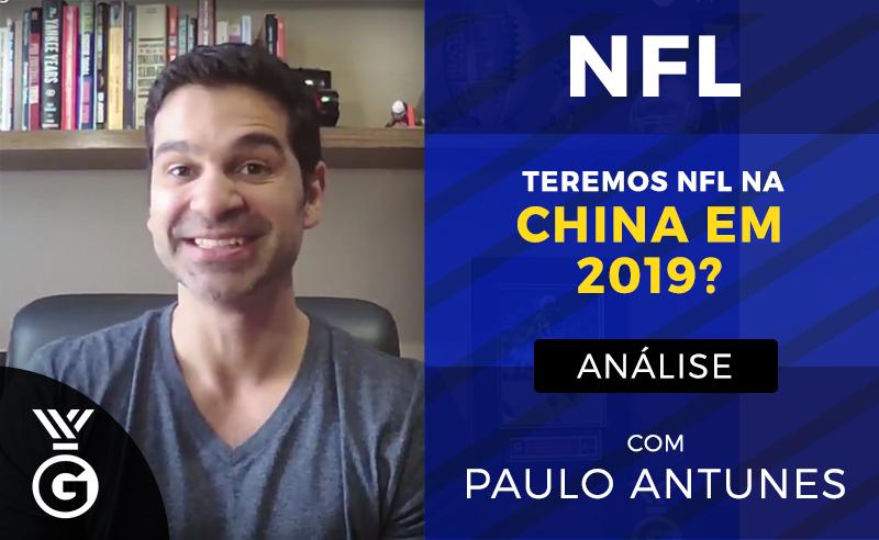 NFL Polvo Paulo Antunes China 2019