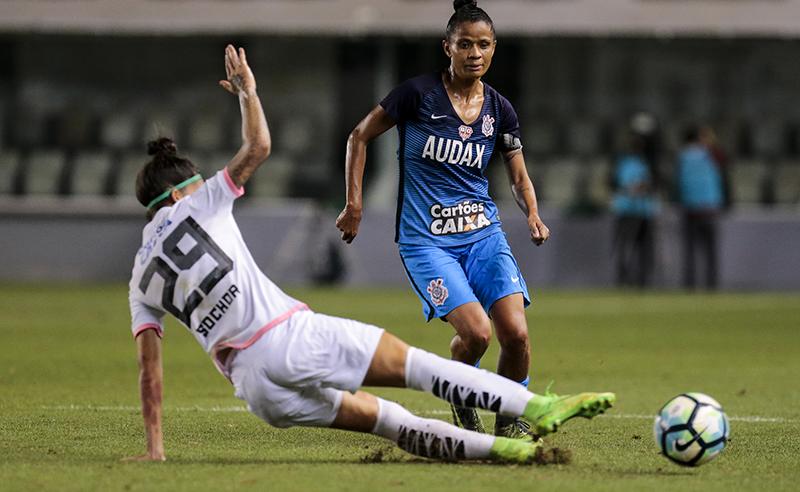 """Campeonato Brasileiro de Futebol Feminino """"Brasileirão Caixa 2017"""" – Santos F.C. X S.C. Corinthians Paulista/Audax"""