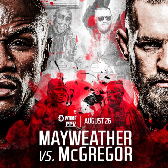 Poster Floyd Mayweather Vs Conor McGregor