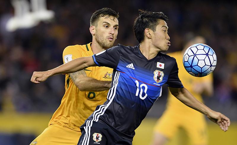 Soccer WCup 2018 Australia Japan