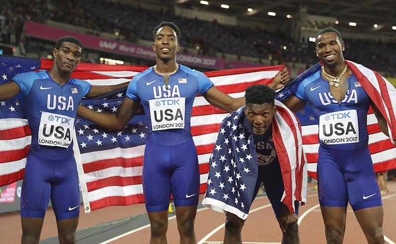 Britain Athletics Worlds