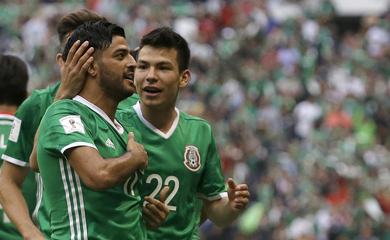 Mexico US Soccer WCup 2018