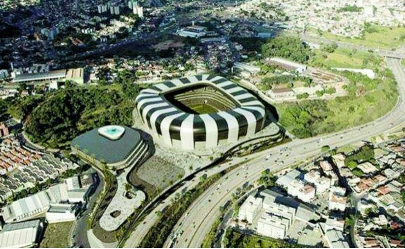 projeto de divulgação do estádio do Atlético-MG (site do Atlético-MG)
