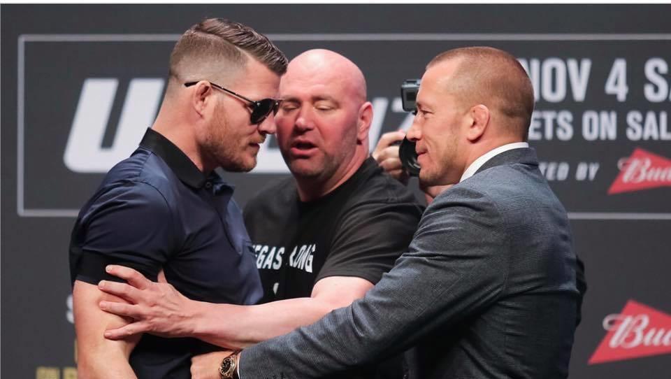 Bisping Vs GSP – UFC 217