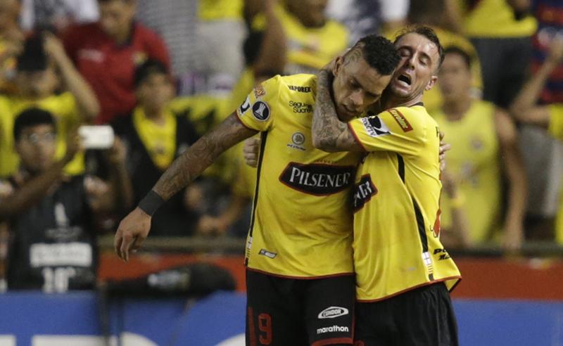 Ecuador Brazil Soccer Copa Libertadores
