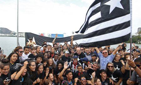 Botafogo pentacampeão de remo