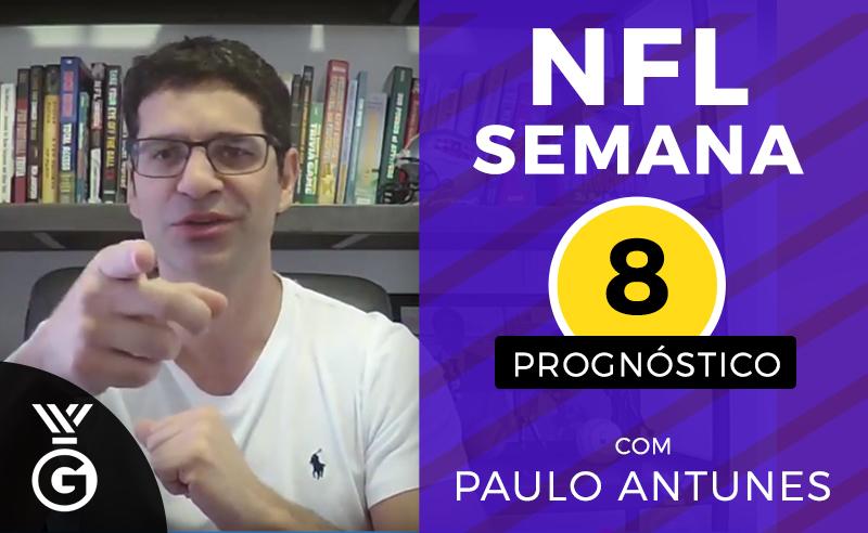Paulo Antunes NFL Semana 8