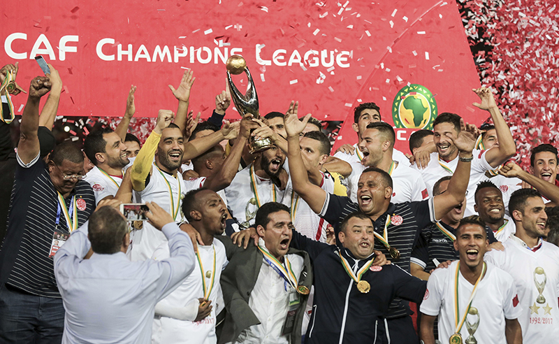 Morocco CAF Champions League Soccer