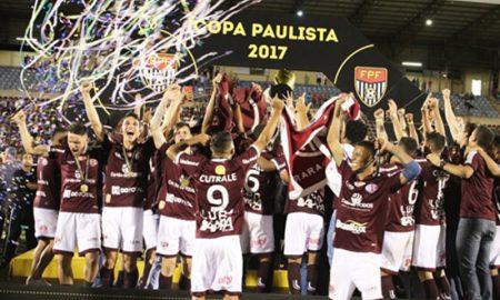Ferroviária campeã Copa Paulista