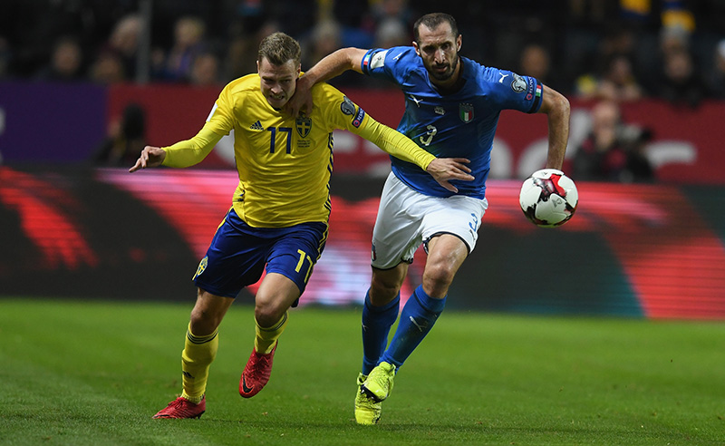 Sweden v Italy – FIFA 2018 World Cup Qualifier Play-Off: First Leg