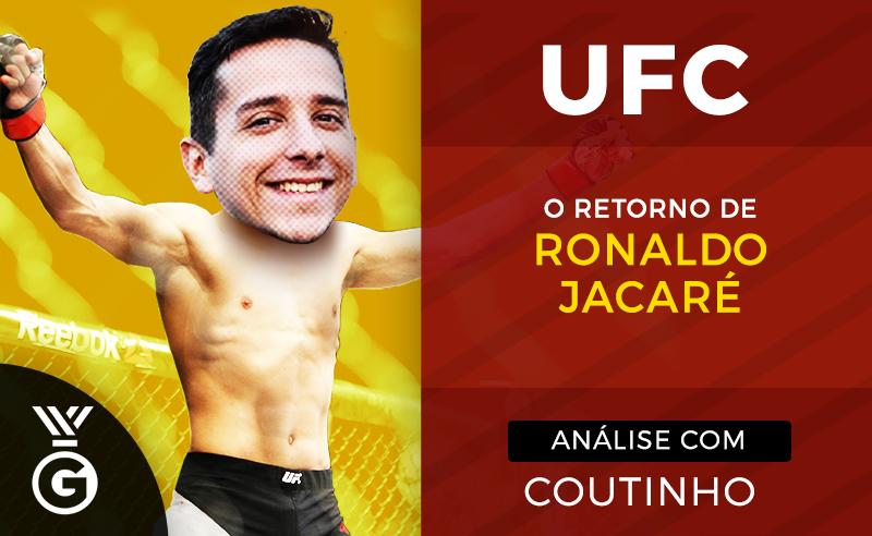 Jacaré UFC próxima luta