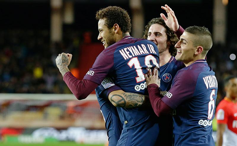 AS Monaco v Paris Saint Germain – French League 1