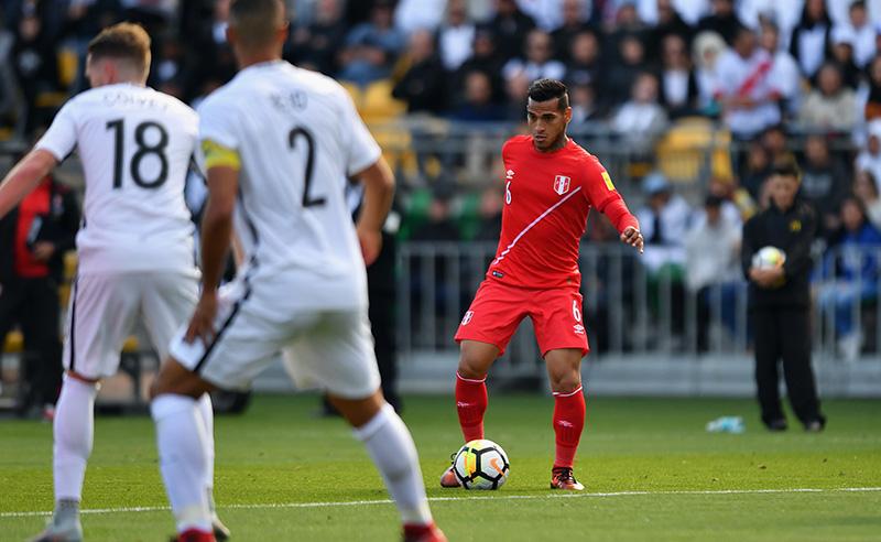 2018 FIFA World Cup Qualifier – New Zealand v Peru