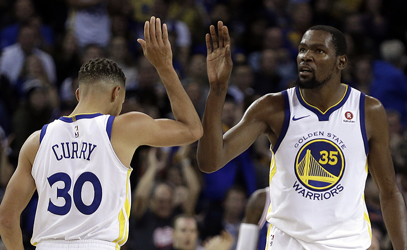 Stephen Curry,Kevin Durant