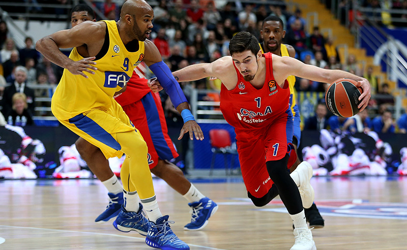 CSKA Moscow v Maccabi Fox Tel Aviv – Turkish Airlines EuroLeague