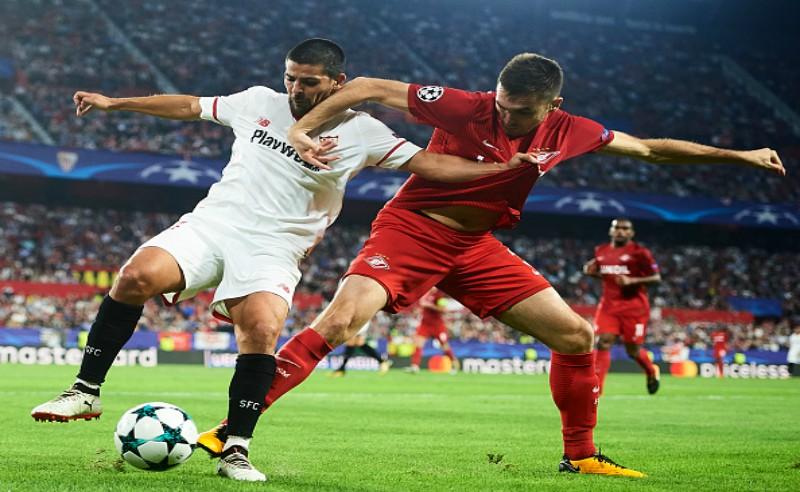 Sevilla vs cska – Leandro
