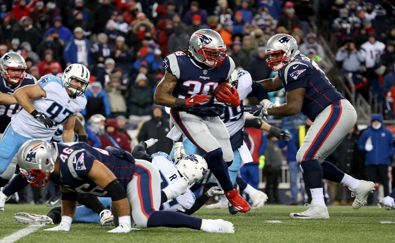 Divisional Round – Tennessee Titans v New England Patriots