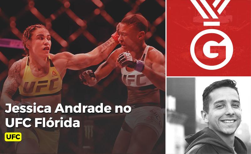 Jessica Andrade no UFC Florida