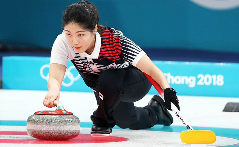 Curling – Winter Olympics Day – 1