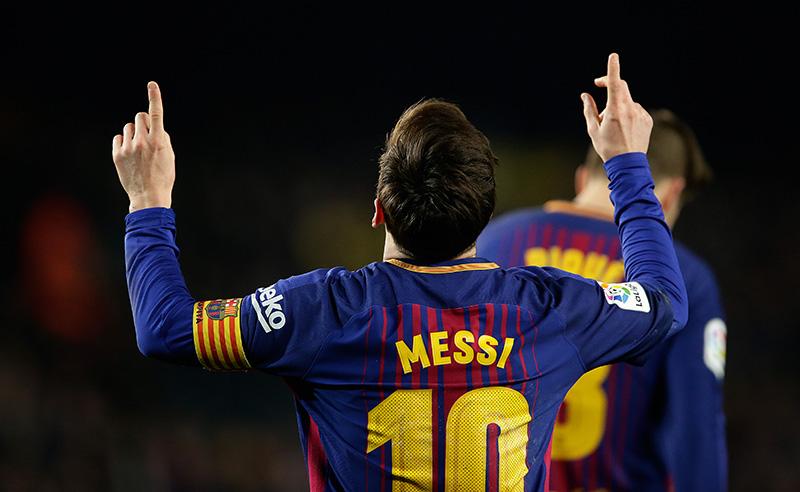 FC Barcelona v Girona – La Liga Santander