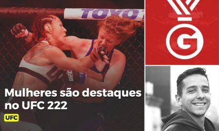 Mulheres no UFC 222