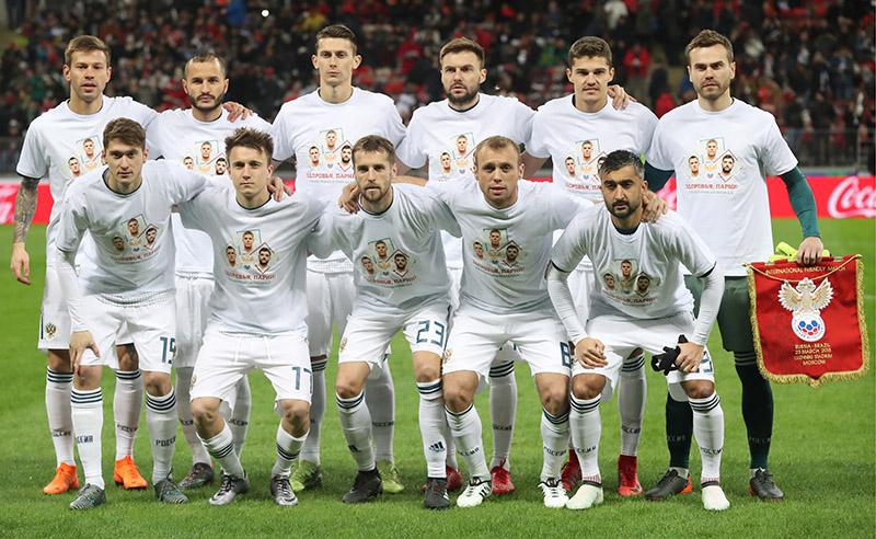 Football Friendly: Russia 0 – 3 Brazil
