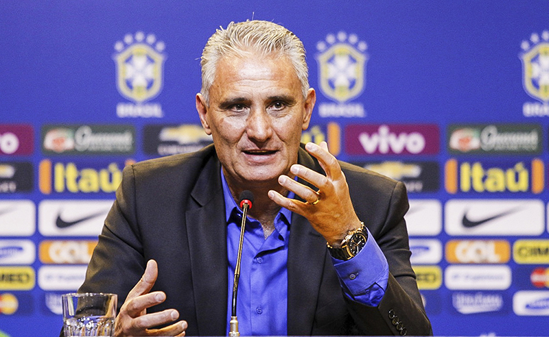 Tite Presented as New Brazil Head Coach