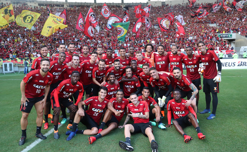 Flamengo treino Maracanã