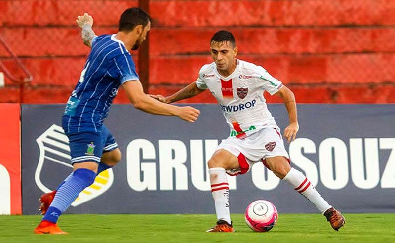 Linense em partida do Campeonato Paulista