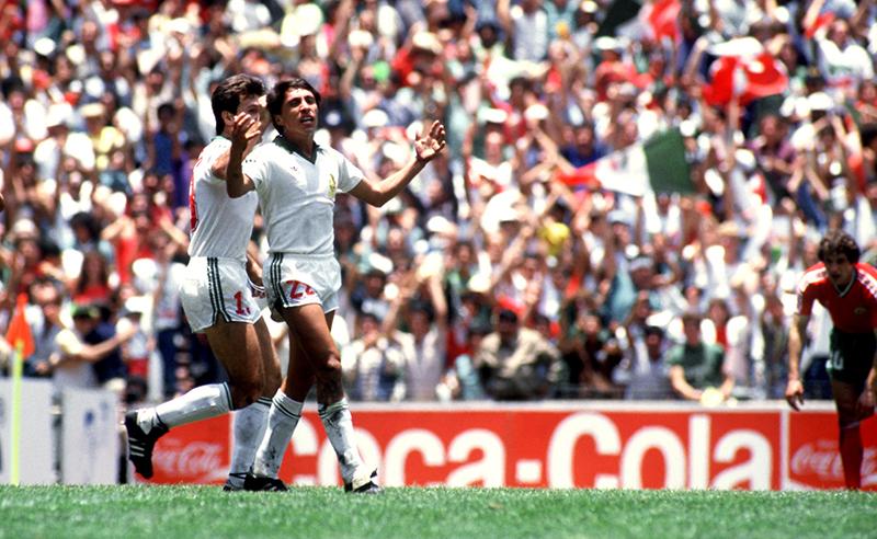 Soccer – World Cup Mexico 86 – Second Round – Mexico v Bulgaria