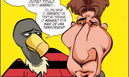 Flamengo contra o Grêmio de Renato Gaúcho