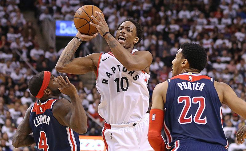 Washington Wizards v Toronto Raptors – Game Two