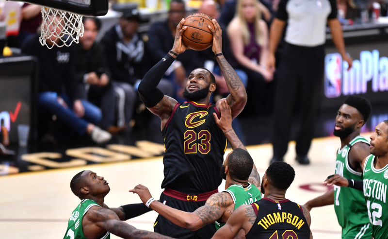 Boston Celtics v Cleveland Cavaliers
