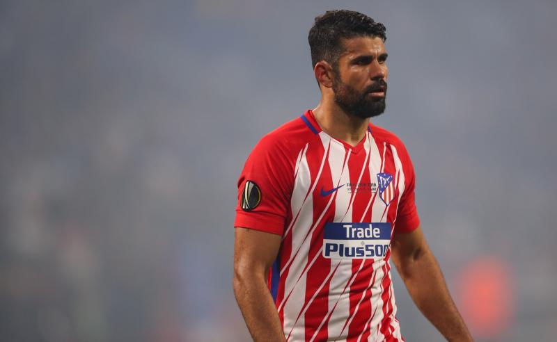 Diego Costa do Atlético Madrid