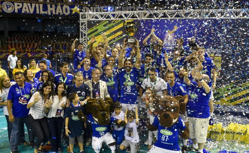 Sada Cruzeiro campeão da Superliga Masculina