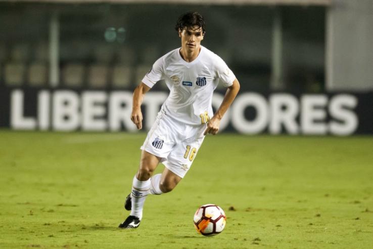 Dodô do Santos em jogo da Libertadores