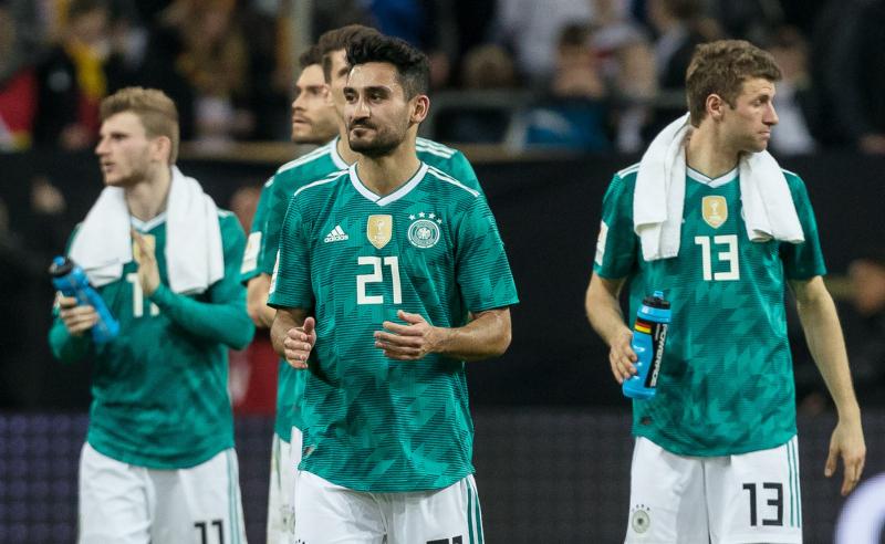 Seleção Alemanha março 2018