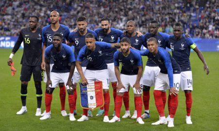 Seleção França maio 2018